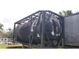Tanque Flexitan para transportar asfalto 5,544 gls, Puerto Rico