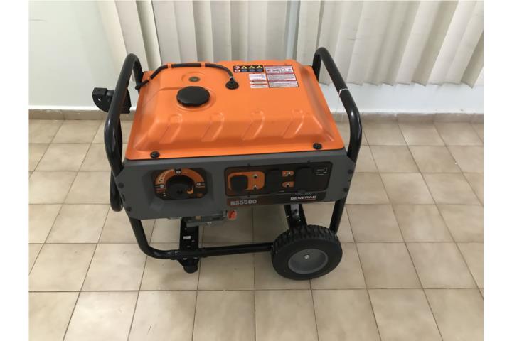 Generac RS5500 Poco Uso