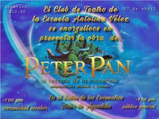 Taquillas para Obra de Peter Pan Universidad , Puerto Rico