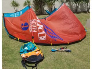 Kitesurfing Kite North Dice 9m 2014, Puerto Rico