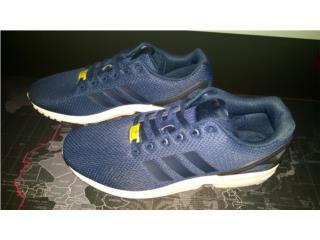 Adidas ZX Flux sz 10.5 azules en $75 OMO, Puerto Rico