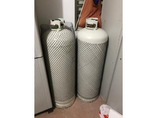 Cilindro de gas 100lbs, Puerto Rico