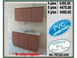 Gabinetes PVC Laminados , Puerto Rico