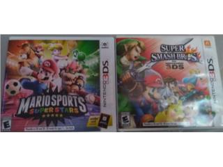 Juegos 3DS Super Smashbros Mario Sports Super Str, Puerto Rico