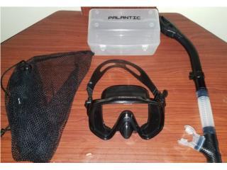 Set snorkel máscaras grande con tubo ist, Puerto Rico