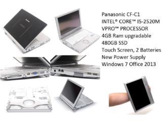 Panasonic ToughBook Laptop Convertible Tablet, Puerto Rico