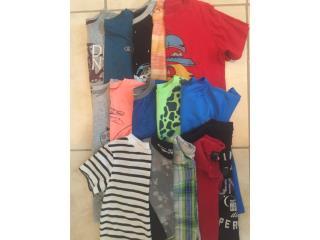 Lote camisas niño size 5-6, Puerto Rico