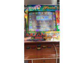 Maquina Tarzan, Puerto Rico