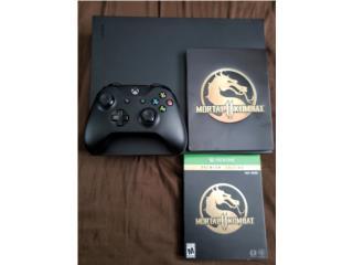 Xbox one x con mortal kombat 11, Puerto Rico