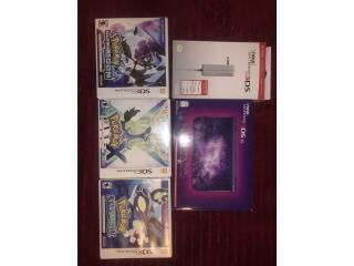 Nintendo 3DS XL Galaxy Con 3 juegos, Puerto Rico