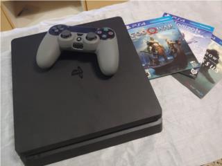 Playstation 4 de 1Tb y 3 juegos, Puerto Rico