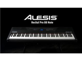 PIANO ALESIS RECITAL PRO - 88 TECLAS, Puerto Rico