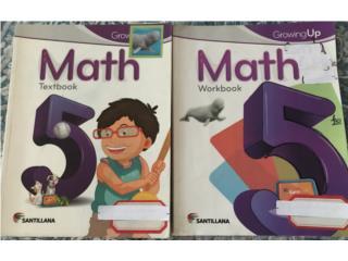 Math 5 Santillana, Puerto Rico