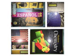 Libros grado 11, Puerto Rico