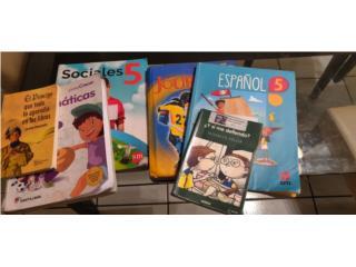 Libros de quinto grado, Puerto Rico