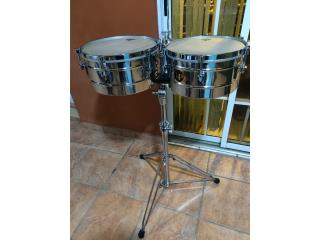 Timbal LP Tito Puente Stainless steel, Puerto Rico