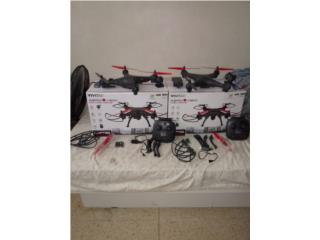 Se venden drones, Puerto Rico