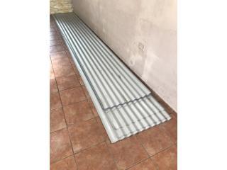 Planchas de zinc 16x24 nuevas $600 Aprovecha!, Puerto Rico