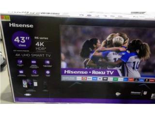 Tv Smart 43 4K nuevo, Puerto Rico