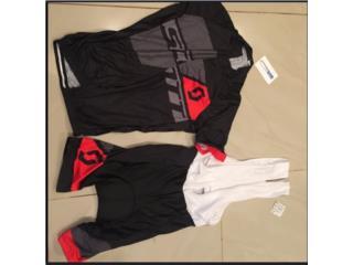 Set de ropa ciclismo (size xl), Puerto Rico