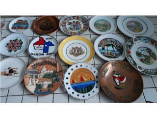 Platos de colección paises, Puerto Rico