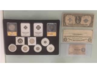 Monedas y billetes, Puerto Rico