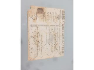 Registros de Esclavos, Puerto Rico