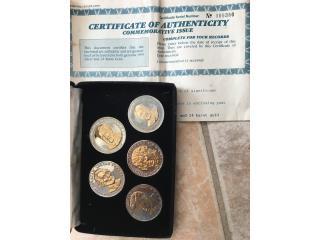 Monedas conmemorativas Presidentes US, Puerto Rico