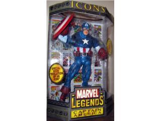 Marvel Legends icons Captain America!!, Puerto Rico