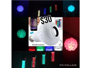 Bombilla Bluetooth Wireless Speaker LED!, Puerto Rico
