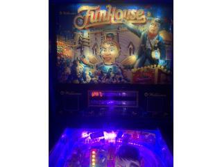 Funhouse Pinball, Puerto Rico