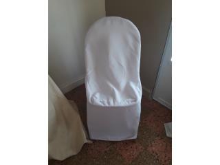 cubiertas de silla blanca, Puerto Rico