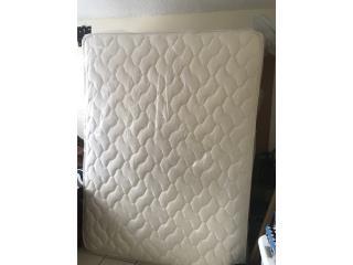Set de mattress ortopedico tamaño Queen, Puerto Rico