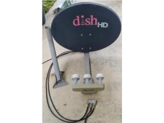 Antenna dish satellite 110, 119, 127, Puerto Rico