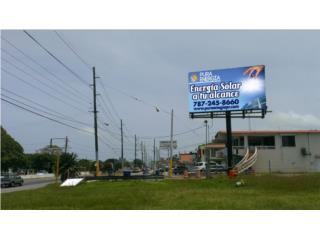 EN VENTAS Vallas publicitarias y Billboards, Puerto Rico