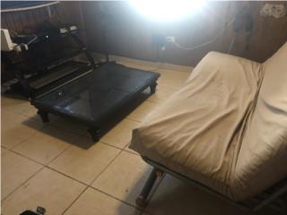 Mueble Sofá cama, mesa de centro y mueble de tv , Puerto Rico