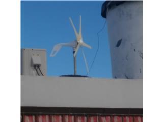 Cambio molino de viento new 1200w 24v, Puerto Rico