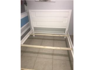 """Hermoso """"frame""""de cama tamaño full 125, Puerto Rico"""