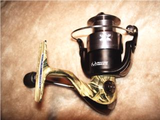 CAMOUFLAGE SPINNING REEL, Puerto Rico