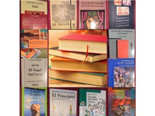 Set de Libros Universitarios y Escolares, Puerto Rico