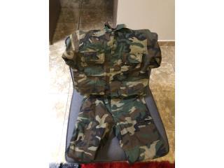Vestimenta militar, Puerto Rico