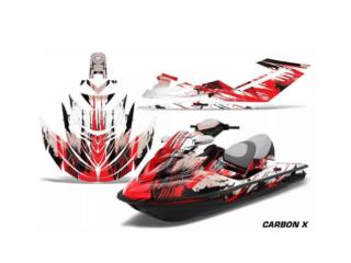 Jet ski graphics kit RXT, Puerto Rico