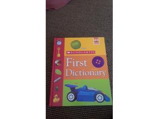First Dictionary SCHOLASTIC, Puerto Rico