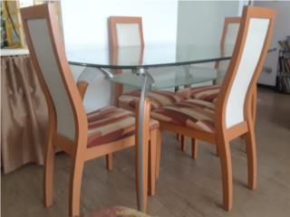 Juego de comedor 4 sillas, Puerto Rico