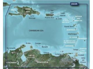 Garmin BlueChart G2 Vision HD VUS030R - Southeast , Puerto Rico
