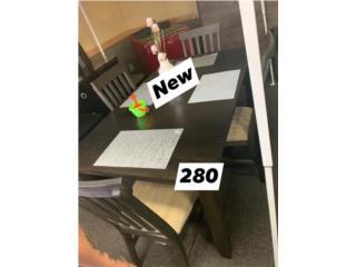 Juego de comedor en caja nunca usado con 6 sillas , Puerto Rico