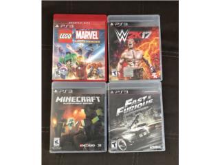 Video juegos PS3, Puerto Rico