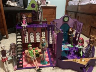 Escuela de Monster High, Puerto Rico