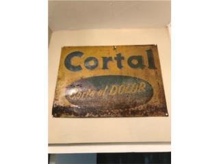 Antiguo Rotulo Cortal , Puerto Rico