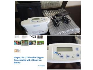 Concentrador de O2- OxyGo 3, Puerto Rico